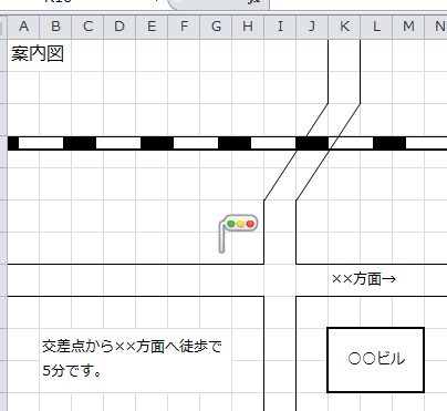 Excel_方眼紙_4