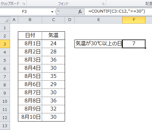 Excel_COUNTIF_5