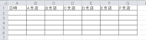 エクセル_縦書き_1